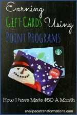 earning gift cards using point programs (small)