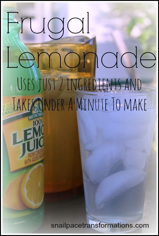 frugal lemonade