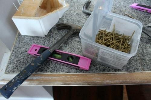 pink tools stolen
