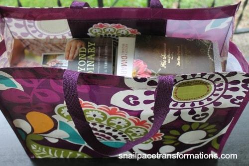 summer reading bag