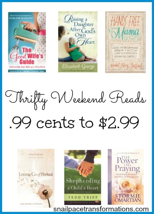 Thrifty Weekend Reads .99 cents to $2.99