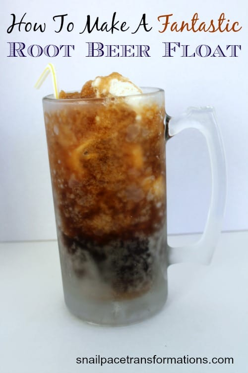 How to make a fantastic root beer float