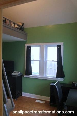Loft bed room from enterance