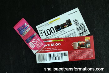 coupons from samples