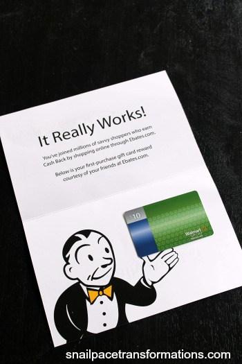 ebates gift card