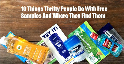 10 Things Thrifty People Do With Free Samples And Where They Find Them