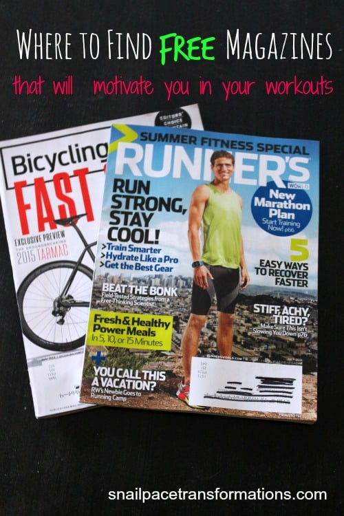 where to find free magazines that will motivate you in your workouts