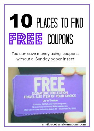 10 places to find free coupons (medium)
