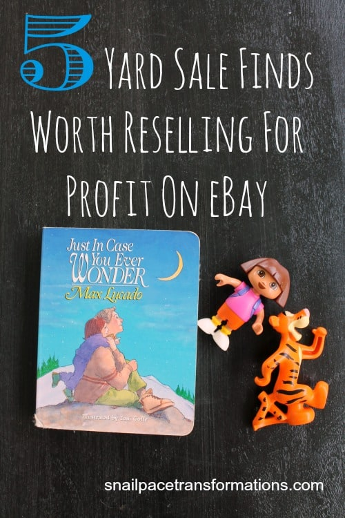 5 yard sale finds worth reselling for profit on ebay