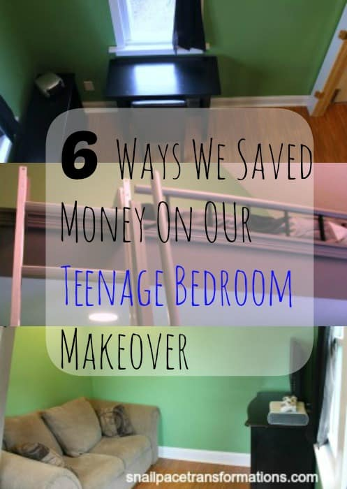 6 ways we saved money on our teenage bedroom makeover