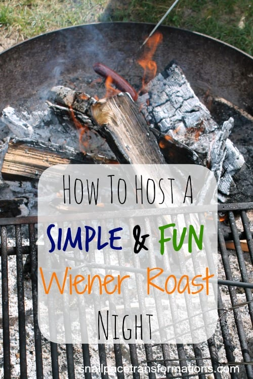 How to host a simple and fun wiener roast night