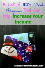 A list of 17+ point progmas that will help your increase your income.