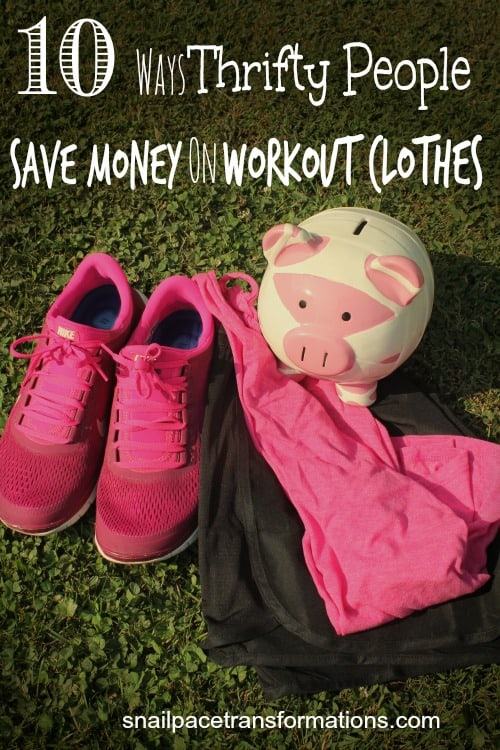 10 Ways Thrifty People Save Money On Workout Clothes