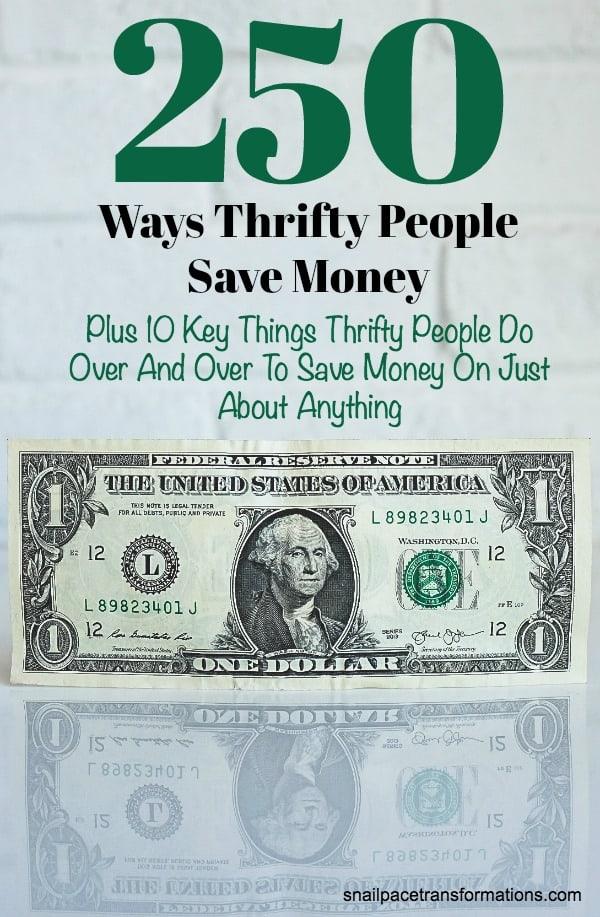 250 saving money ideas. Save money with these tips! #savemoney #savingmoney