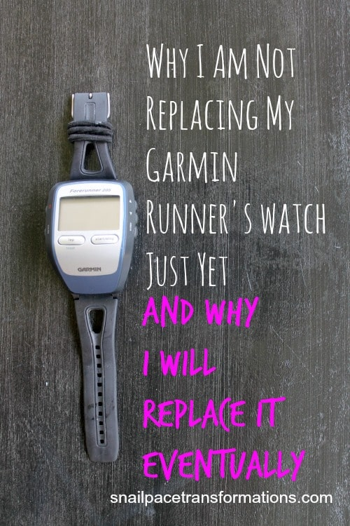 Why I am not replacing my garmin runner's watch just yet