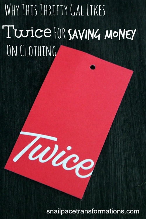 Why this thrifty gal likes Twice for saving money on clothing