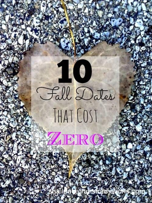 10 fall dates that cost zero