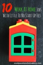 10 work at home jobs with little to no start up fees (small)
