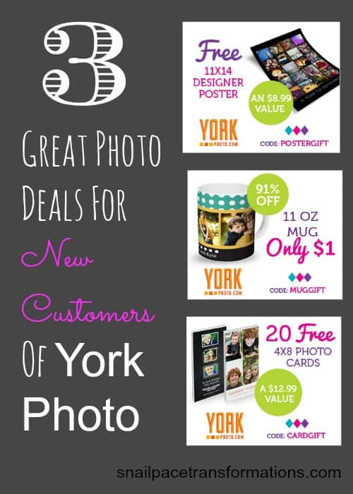 3 great photo deals for new customers of York Photo