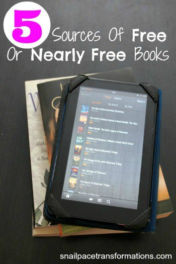 5 sources of free or nearly free books (med)