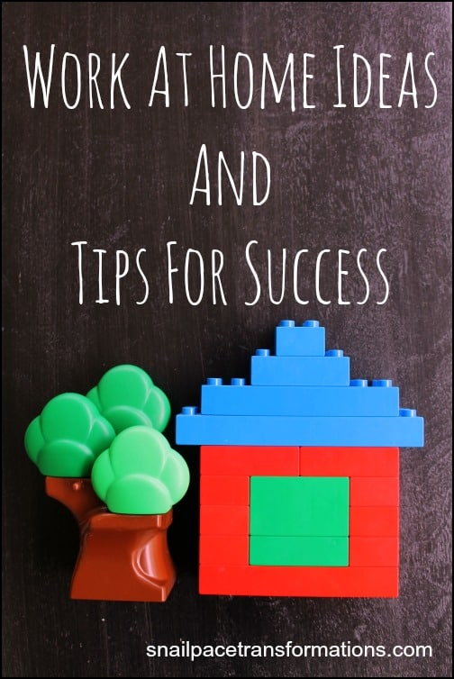 Work At Home Ideas And Tips For Success.