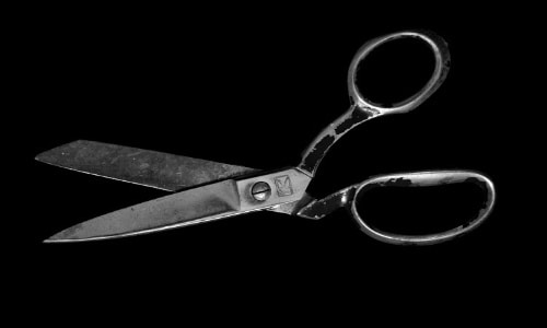 Thrifty people know that sharp scissors can help them get out that last bit of product.