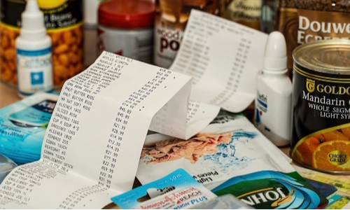 Thrifty people even use their receipts to earn money before tossing them.