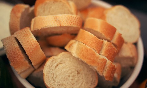 Thrifty people make bread crumbs out of the bread crusts the kids won't eat.