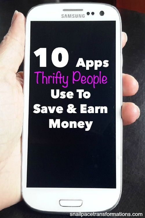 10 apps thrifty people use to save and earn money