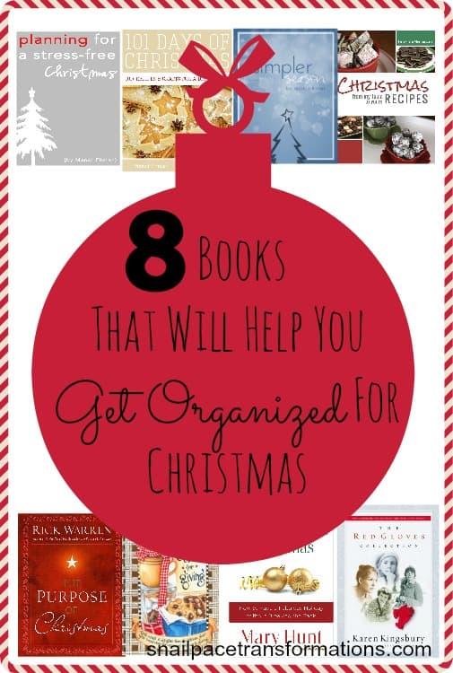 8 books that will help you get organized for Christmas