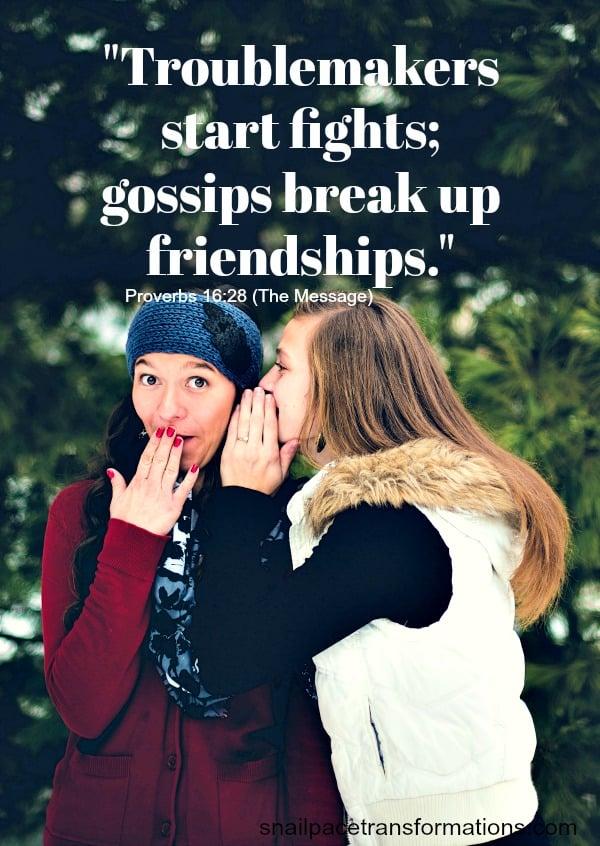 Friendship bible verse: Proverbs 16:28 #friendship #friendshipquote