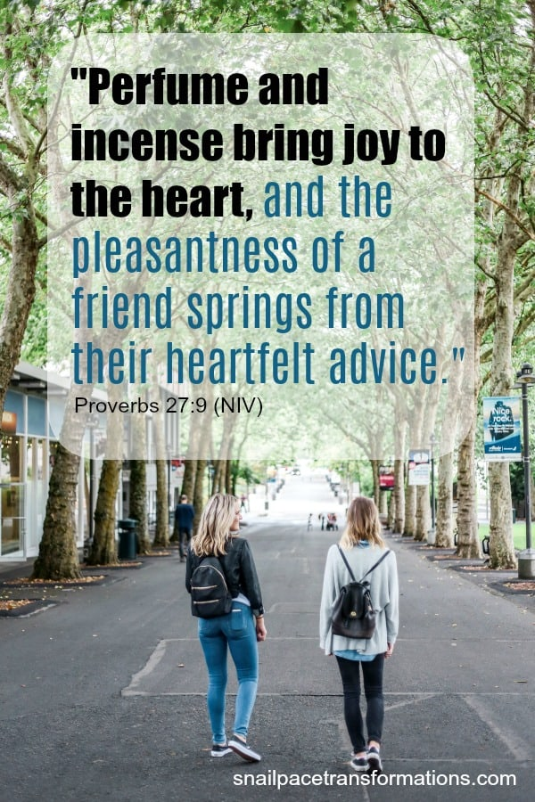 Friendship Bible verse: Proverbs 27:9 #friendship #friendshipquote
