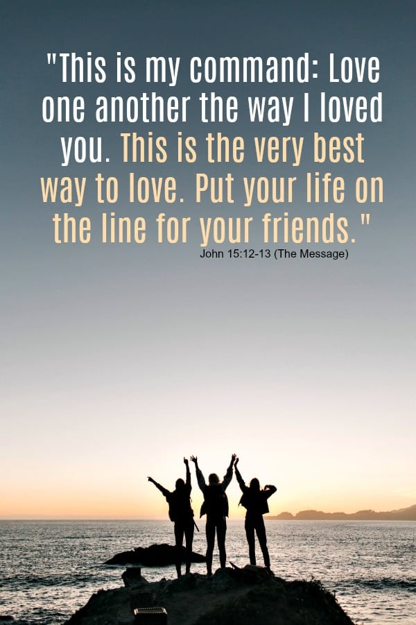 Bible verse on friendship: John 15:12-13 #friendship #friendshipquote