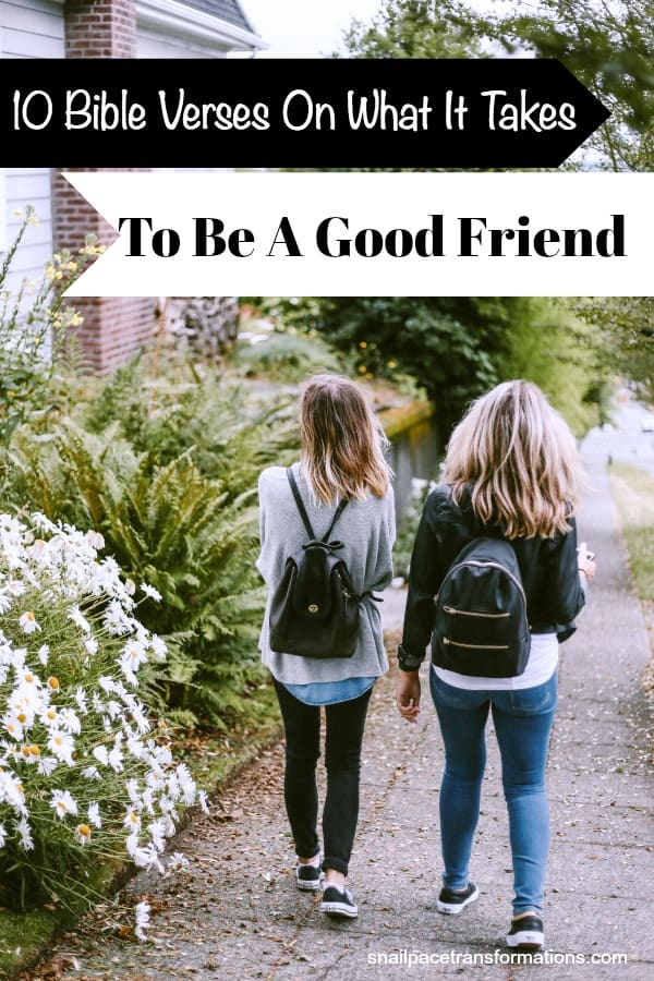 10 Bible Verses On Friendship. #friendship #friendshipquotes