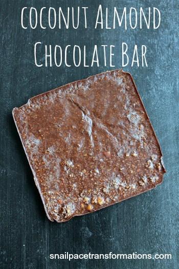 Coconut Almond Chocolate Bar a whole foods treat