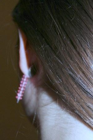 Courtney's earrings