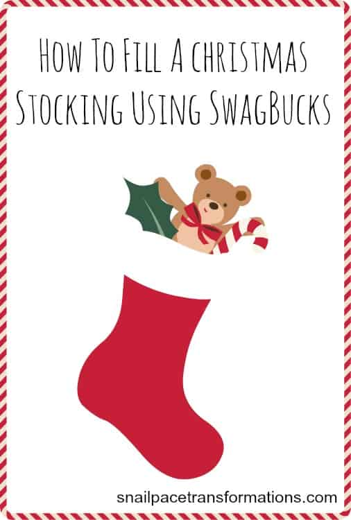 How to fill a Christmas stocking using SwagBucks