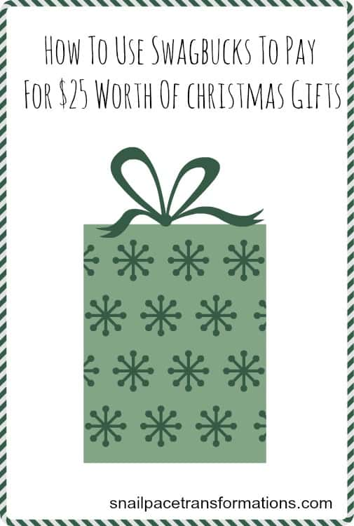 How to use Swagbucks to pay for $25 worth of Christmas gifts