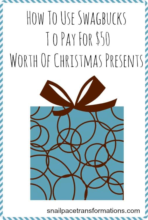 How to use Swagbucks to pay for $50 worth of Christmas presents
