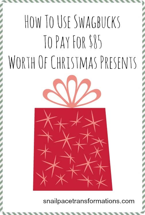How to use Swagbucks to pay for $85 worth of Christmas presents