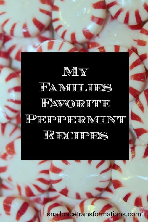 My families favorite peppermint recipes