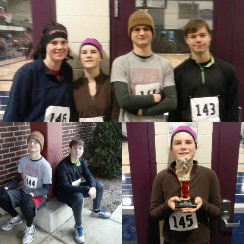 The kids and I 5k run
