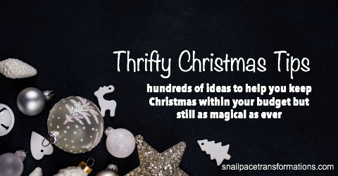 A Thrifty Christmas resource page