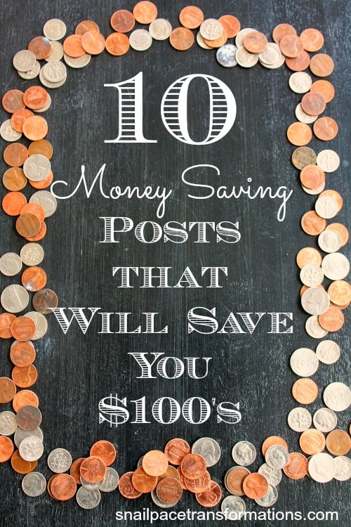 10 Money Saving Posts That Will Save You $100's