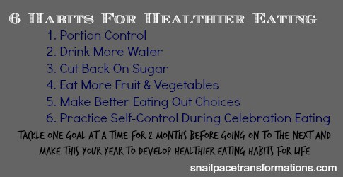 6 habits for healthier eating do them over and over and form habits that stick