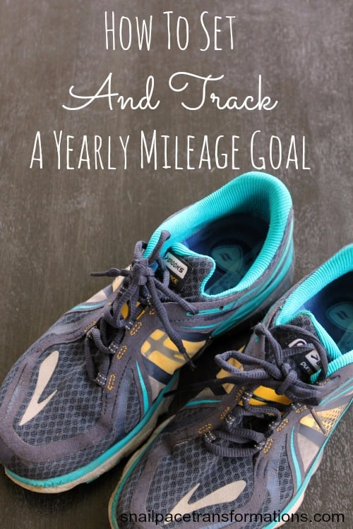 Make A Fitness Goal For This YearHow to set and track a yearly milage goal