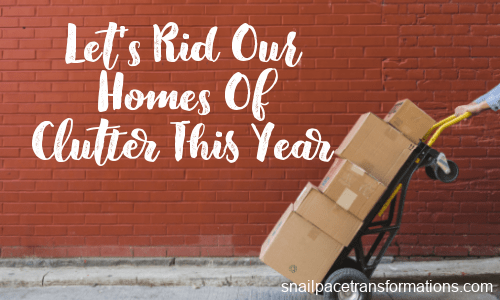 Join Me This Year And Watch Those Clutter Piles Shrink