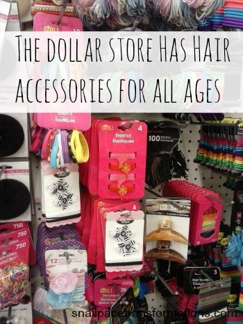 hair accessories for gift basket