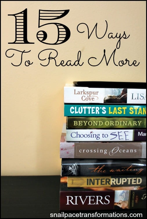 15 Ways To Read More