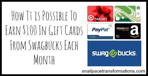 20 Ways to earn Swagbucks that can make it possible to earn $100 a month
